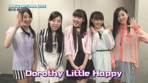 GIRL'S NATURAL LIVE 2013 SPRING〜Dorothy