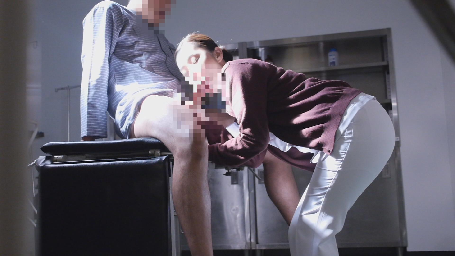 夜勤中の人妻看護師覗き 痴女気味な人妻ナースとの超展開!まさかの院内SEX!?3