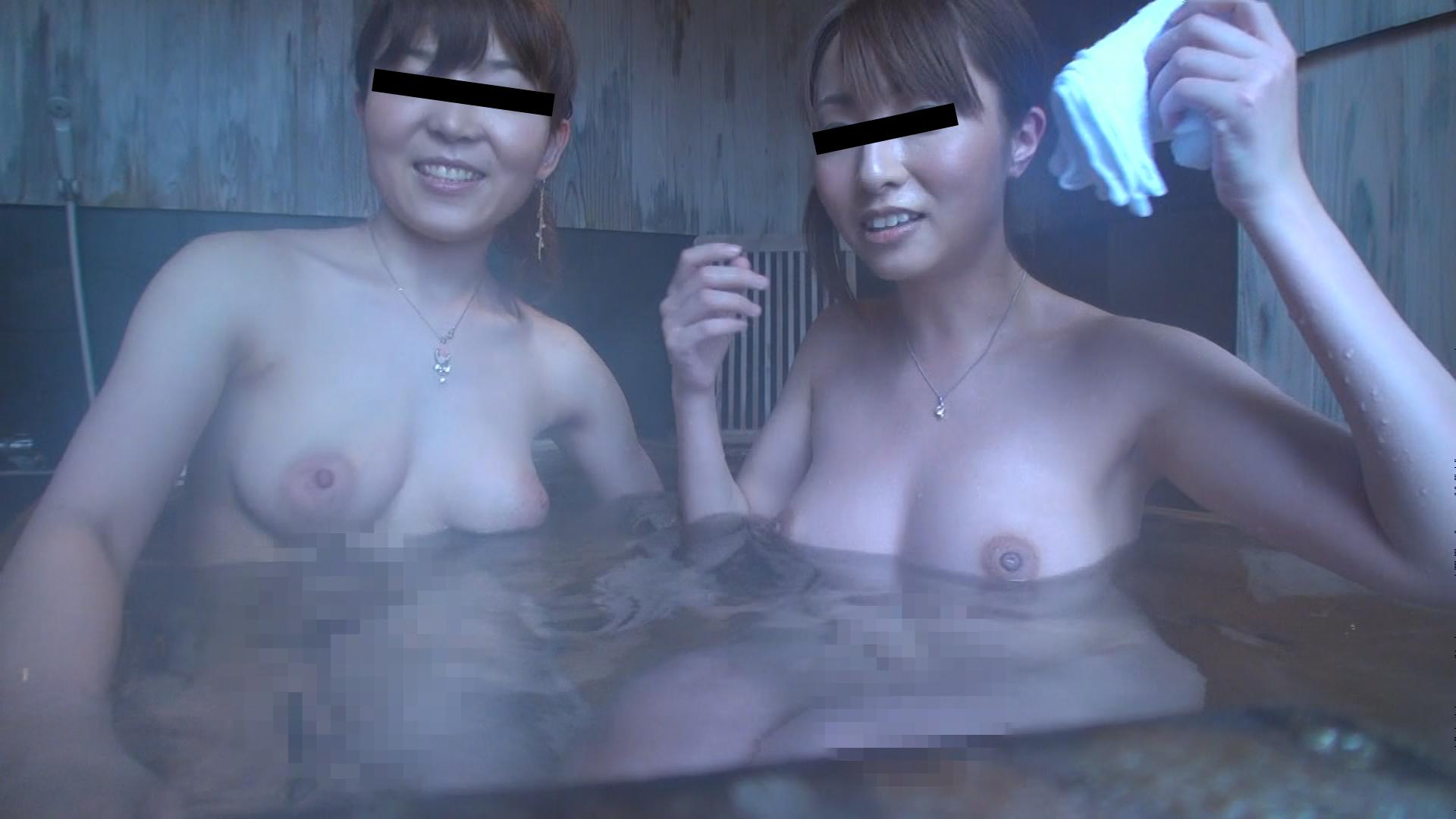 ぐっちょり濡れ合う OL温泉レズ旅行 2