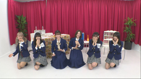 乃木坂46 松村沙友理 中田花奈 22/7 青春高校3年C組アイドル部